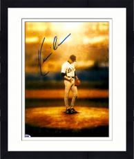 """Framed Kevin Costner Autographed 11""""x 14"""" For Love of The Game Standing On Mound Photograph - PSA/DNA COA"""