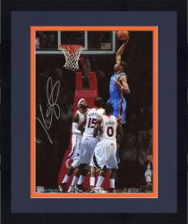 "Framed Kevin Durant Oklahoma City Thunder Autographed 08"" x 10"" VS Atlanta Photograph"