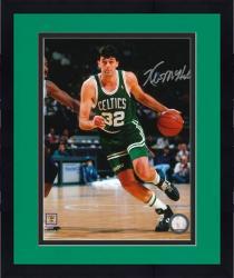 "Framed Kevin McHale Boston Celtics Autographed 8"" x 10"" Dribbling Photograph"