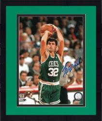 "Framed Kevin McHale Boston Celtics Autographed 8"" x 10"" Jumper Photograph"