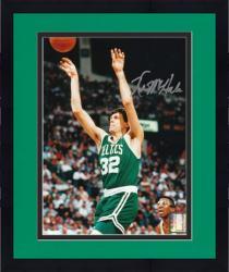 "Framed Kevin McHale Boston Celtics Autographed 8"" x 10"" Shooting Photograph"
