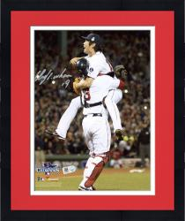 "Framed Koji Uehara Boston Red Sox 2013 World Series Champions Autographed 8"" x 10"" Action Photograph"