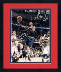 "Framed Kyrie Irving Cleveland Cavaliers Autographed 8"" x 10"" vs. Atlanta Hawks Photograph"