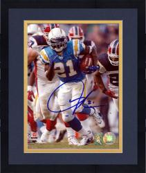 "Framed LaDainian Tomlinson San Diego Chargers Autographed 8"" x 10"" vs Buffalo Bills Photograph"