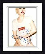 "Framed Lady Gaga Autographed 11"" x 14"" Covering Up Photograph - PSA/DNA"