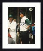 Framed Tom Lehman Autographed 8'' x 10'' Hands On Hips Photograph