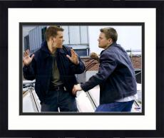 """Framed Leonardo DiCaprio Autographed 11"""" x 14"""" The Departed: Fighting Photograph - PSA/DNA LOA"""