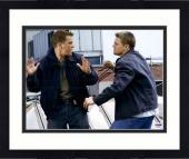 "Framed Leonardo DiCaprio Autographed 11"" x 14"" The Departed: Fighting Photograph - PSA/DNA LOA"