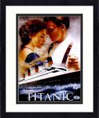 """Framed Leonardo DiCaprio Autographed 11""""x 14"""" Titanic Movie Promo Photograph - PSA/DNA COA"""