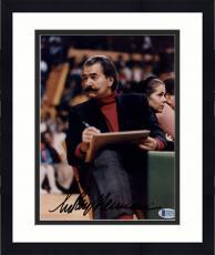 """Framed Leroy Neiman Autographed 8""""x 10"""" Drawing Art Photograph - Beckett COA"""