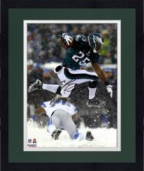 "Framed LeSean McCoy Philadelphia Eagles Autographed 16"" x 20"" Leaping in Snow Photograph"