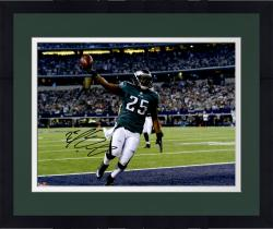 "Framed LeSean McCoy Philadelphia Eagles Autographed 16"" x 20"" Touchdown vs. Dallas Cowboys Photograph"