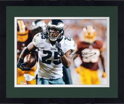 "Framed LeSean McCoy Philadelphia Eagles Autographed 16"" x 20"" vs. Washington Redskins Photograph"