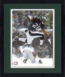 "Framed LeSean McCoy Philadelphia Eagles Autographed 8"" x 10"" Leaping In Snow Photograph"