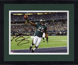 "Framed LeSean McCoy Philadelphia Eagles Autographed 8"" x 10"" Touchdown vs. Dallas Cowboys Photograph"