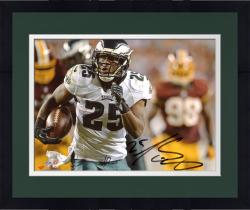 "Framed LeSean McCoy Philadelphia Eagles Autographed 8"" x 10"" vs. Washington Redskins Photograph"