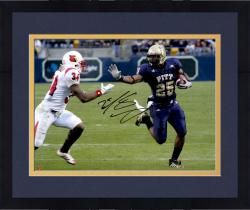 "Framed LeSean McCoy Pittsburgh Panthers Autographed 16"" x 20"" vs. Louisville Cardinals Photograph"