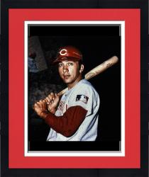 Framed Limited Edition Johnny Bench Signed 10x30 Film Strip Photo - Multiple Inscriptions