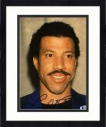 "Framed Lionel Richie Autographed 8""x 10"" Wearing Black Shirt Photograph - Beckett COA"