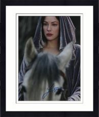 Framed Liv Tyler Autographed 11x14 PSA/DNA