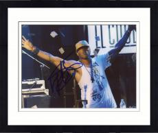 Framed LL Cool J Autographed 8'' x 10'' New York Hat On Photograph