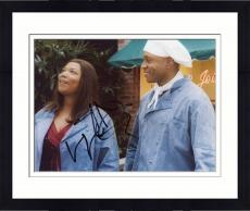 Framed LL Cool J Autographed 8'' x 10'' With Queen Latifa Photograph