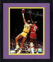 "Framed Los Angeles Lakers Kareem Abdul-Jabbar Autographed 8"" x 10"" Photo"