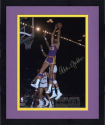 Framed Los Angeles Lakers Kareem Abdul-Jabbar Autographed 8'' x 10'' Photo vs. Milwaukee Bucks