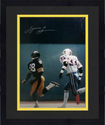 Framed Lynn Swann Pittsburgh Steelers Autographed 16'' x 20'' vs. Houston Oilers Photograph