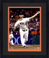 "Framed Madison Bumgarner San Francisco Giants Autographed 16"" x 20"" Photograph"