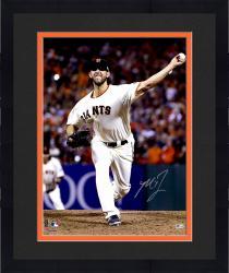 "Framed Madison Bumgarner San Francisco Giants Autographed 16"" x 20"" Photograph"