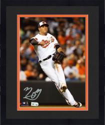 "Framed Manny Machado Baltimore Orioles Autographed 8"" x 10"" Orange Carpet Photograph"