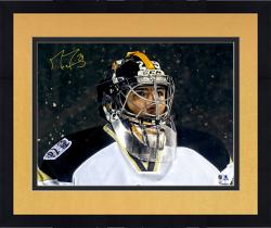 """Framed Marc-Andre Fleury Pittsburgh Penguins Autographed Stadium Series 16"""" x 20"""" Photograph"""