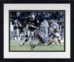 "Framed Marcus Allen Oakland Raiders Autographed 16"" x 20"" vs. Cincinnati Bengals Photograph"