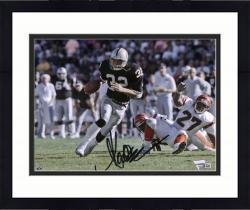 "Framed Marcus Allen Oakland Raiders Autographed 8"" x 10"" vs. Cincinnati Bengals Photograph"