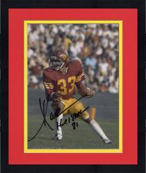 "Framed Marcus Allen USC Trojans Autographed 8"" x 10"" Vertical Cutting Photograph"