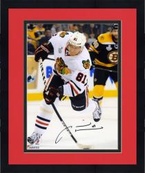 "Framed Marian Hossa Chicago Blackhawks 2013 Stanley Cup Final Champions Autographed 8"" x 10"" Photograph"
