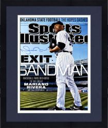 "Framed Mariano Rivera New York Yankees Autographed Retirement SI Cover 16"" x 20"" Photograph"