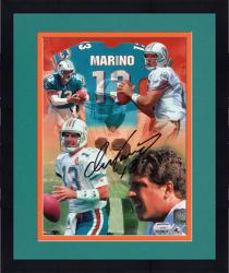 Framed Dan Marino Autographed Dolphins 8x10 Photo