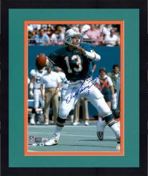 Framed Dan Marino Miami Dolphins Autographed 16'' x 20'' Throw Photograph