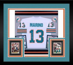 Dan Marino Autographed Framed Dolphins Jersey