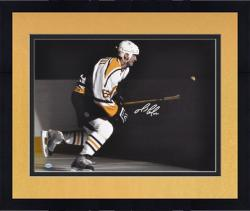 Framed Mario Lemieux Pittsburgh Penguins Autographed 16'' x 20'' Photo