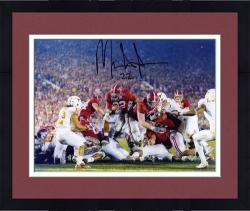 Framed Mark Ingram Alabama Crimson Tide 2010 BCS National Champions Autographed 8'' x 10'' Photograph