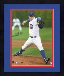 "Framed Mark Prior Chicago Cubs Autographed 16"" x 20"" Action Photograph"