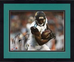 Framed Marqise Lee Jacksonville Jaguars Autographed 8'' x 10'' Break Tackle Photograph