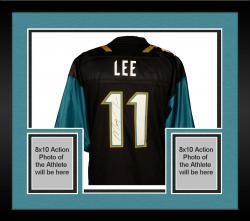 Framed Marqise Lee Jacksonville Jaguars Autographed Game Teal Jersey