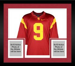 Framed Marqise Lee USC Trojans Autographed Limited Cardinal Jersey