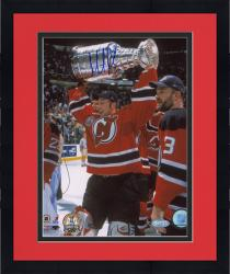 "Framed Martin Brodeur New Jersey Devils 2000 Stanley Cup Champions Autographed 8"" x 10"" Vertical Photograph"