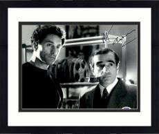 "Framed Martin Scorsese Autographed 11"" x 14"" Raging Bull Standing Next To Robert De Niro Wearing Suit Photograph - PSA/DNA COA"