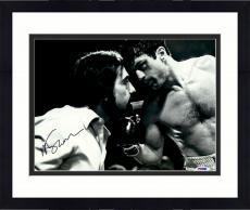"Framed Martin Scorsese Autographed 11"" x 14"" Raging Bull  Staring At Robert De Niro Photograph - PSA/DNA COA"